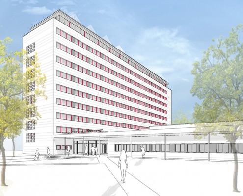 Visualisierung Finanzamt Bielefeld