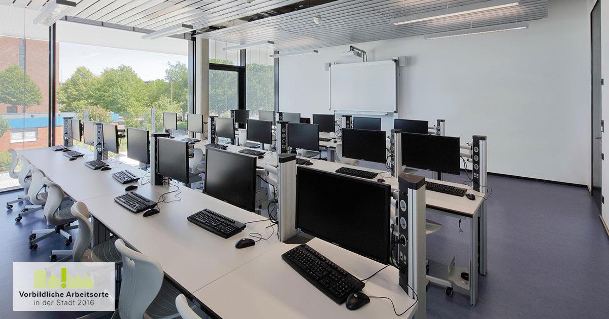 Vorbildliche Arbeistorte in der Stadt, Technologie - und Bildungszentrum TBZ Köln, SSP Architekten Bochum