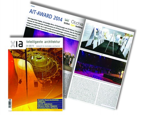 XIA Intelligente Architektur AIT-Award 2014